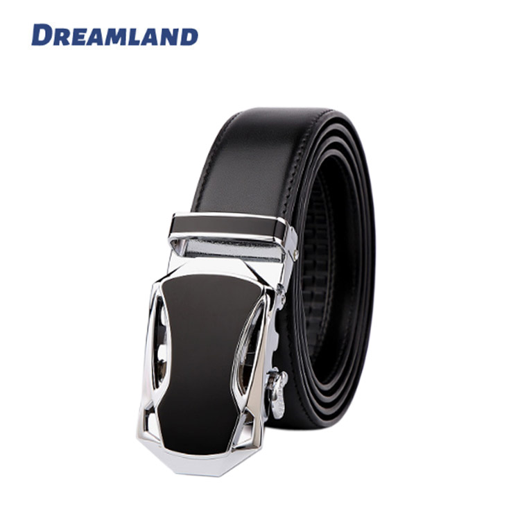 Customized Logo Auto Lock Buckle Men Leather <strong>Belts</strong> with No Holes