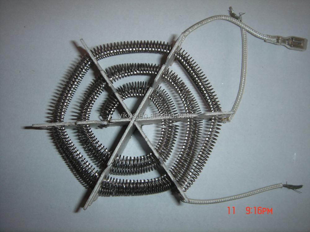 Spiral Sic Heating Elements Hairdryer Parts