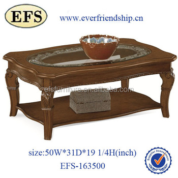Fancy Cheap Antique Glass Top Center Table Design Antique Glass Top ...