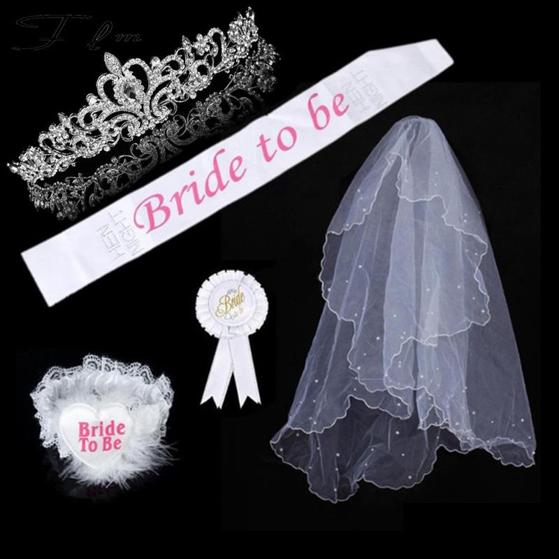 White Bridesmaid Satin Ribbon Sash Wedding Party Favor Decor BRIDE ACCESSORY