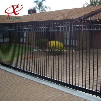 Steel Manual Control Residential Sliding Gate Designs