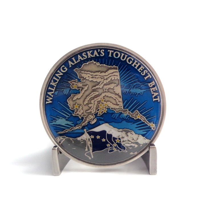 Custom Spinner Navy Metal Coins Of High Quality Customised Logo Coin