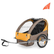 Cheapest alu specialized bike trailer assessed product by Alibaba TUV with EN15918 EN1888 CE ISO9000(BT004 Alu)
