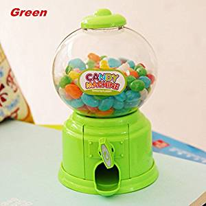 Creative twist candy machine mini storage box plastic children's money boxes funny money bank