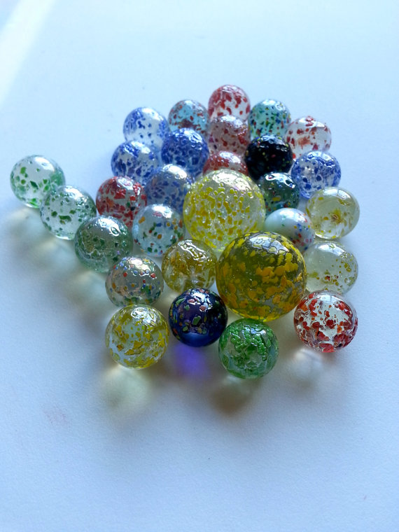 16mm 25mm 35mm toy glass marbles round glass ball for sale