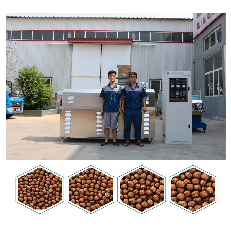 twin screw shrimp meal feed fish meal pellet making machinery