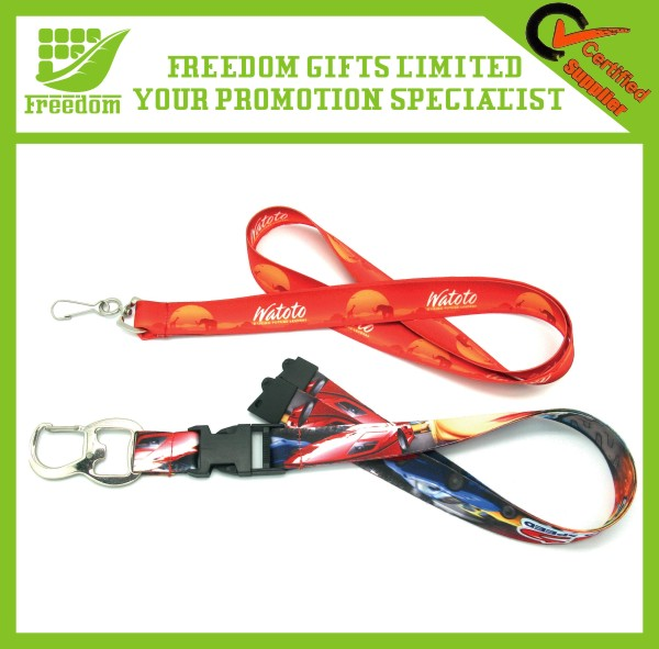 Promotional Silk Screen Printing Lanyard With logo