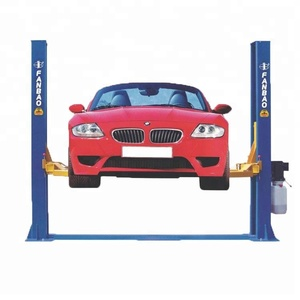 4T manual two side release Double post car Lift Design and reasonable Design