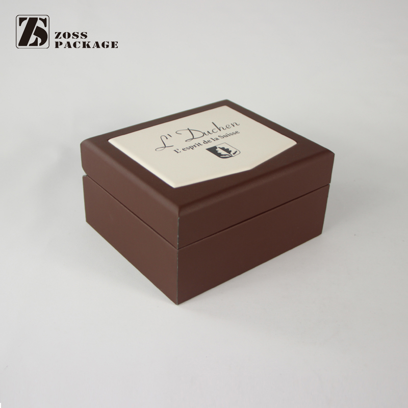 Chinese Manufacturer Custom Single Men Branded Leatherette Watch Box PU
