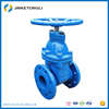 customized Ductile Iron safety test bench chain wheel gate valve
