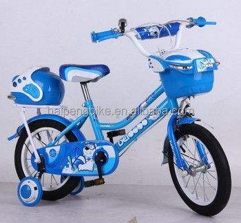 Durable Bicycle Model For Kids 8years Old 2016 Fashion Pattern Blue