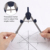 4pcs Students School Compass Divider Set