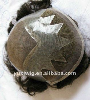 Customized Order Undetectable Natural Hairline