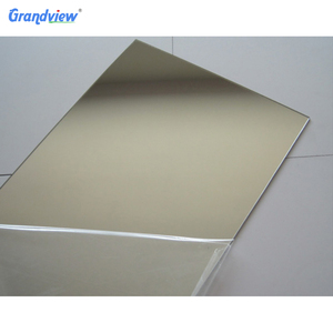 Single-side pmma 2m silver acrylic mirror sheets for decoration