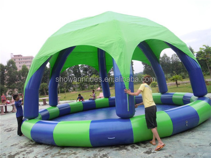 Giant Inflatable Pool Float Flamingo Inflatable Square Swimming Pool Large  Plastic Swimming Pool
