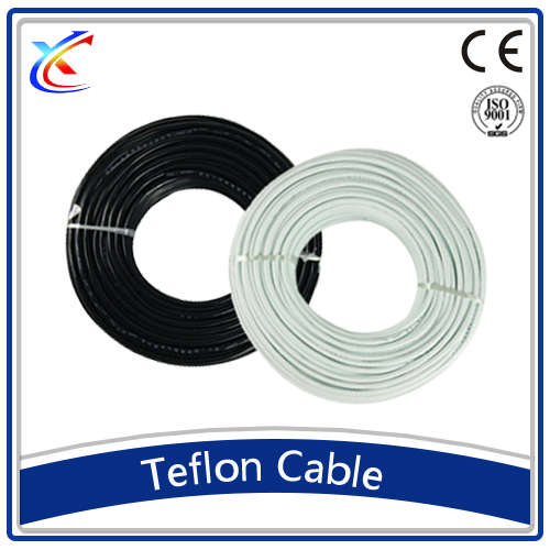 high temperature YGC teflon insulation silicone rubber sheath flat production wire manufacturing 2.5mm electric cable