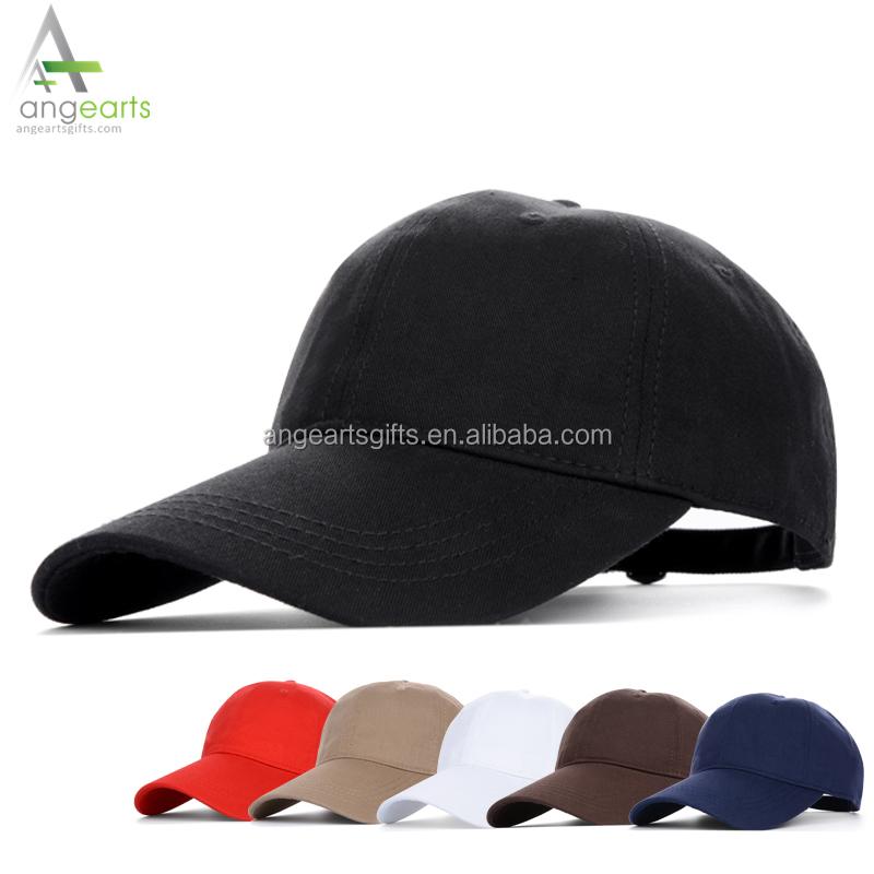 0e9333851cb08 China factory high quality cheap men 100% cotton blank baseball cap custom  fashion dad hat
