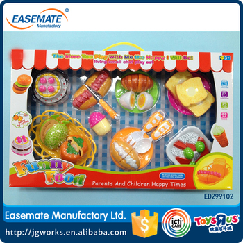 Children S Toys Play House Toy Kitchen Set Emulational Birthday Cake For Baby Cutting