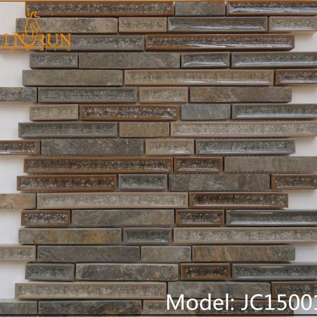 Popular design factory original price moasic ceramic floor tile mosaic