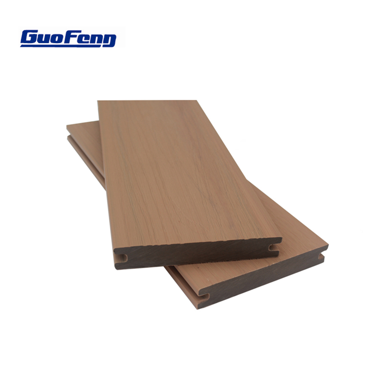 outdoor capped composite deck co extrusion plastic wood wpc floor