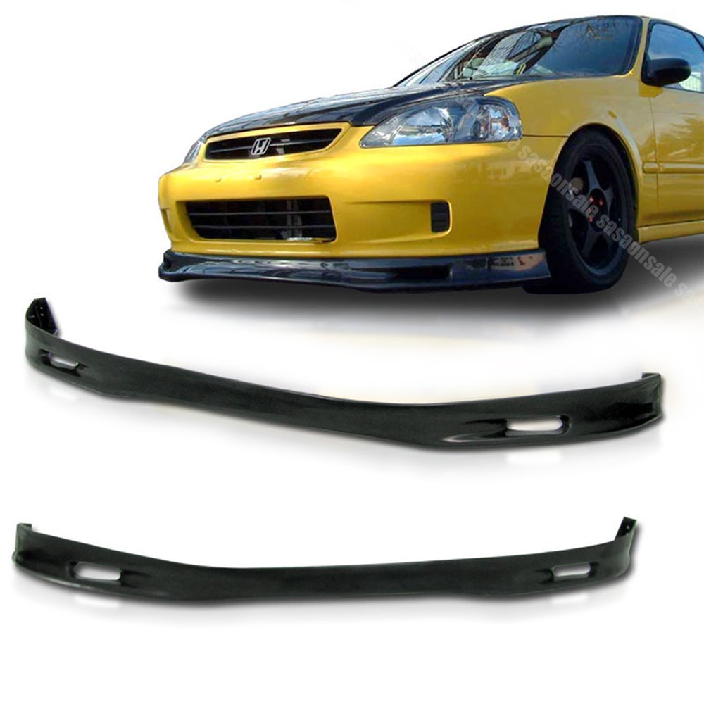 NEW - 1999-2000 HONDA CIVIC Coupe Hatchback SP Style Front PU Bumper Lip