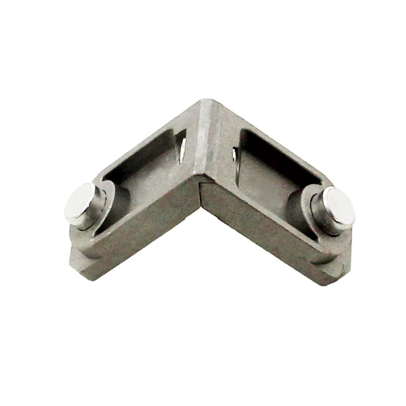 Multi functional aluminium alloy universal corner joint for Furniture joint connectors