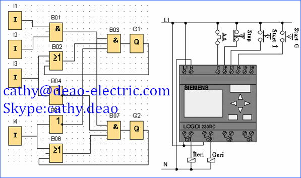 digital input 8 points relay output plc controller programmable Basic Electrical Wiring Diagrams at 6ed1052 1md00 0ba6 Wiring Diagram