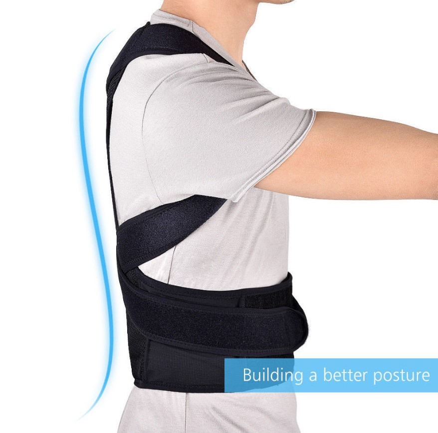 Adjustable Posture Corrector Strap Belts Back Brace Shoulder Orthotics Support