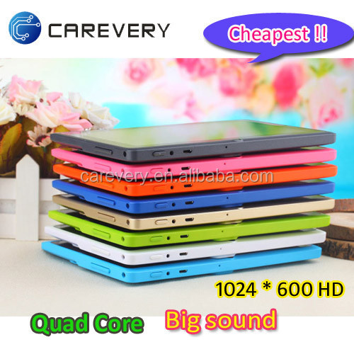 Shenzhen Carevery factory manufacture 7 inch a33 quad core tablet/ Bulk wholesale android tablet 7 inch allwinner A33