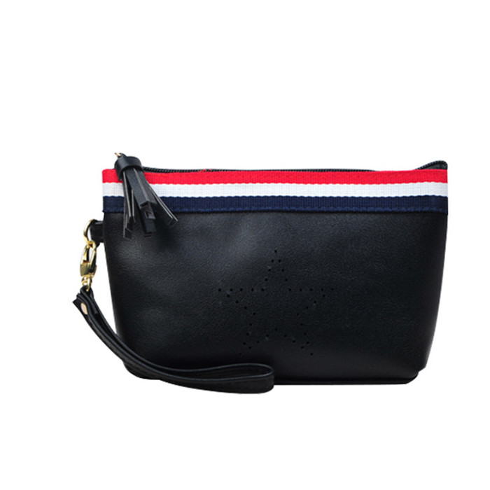 New arrival international fashion element popular PU leather travel makeup cosmetic Bag
