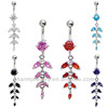 Fashion Jewelry Dangle Belly Rings BER-019