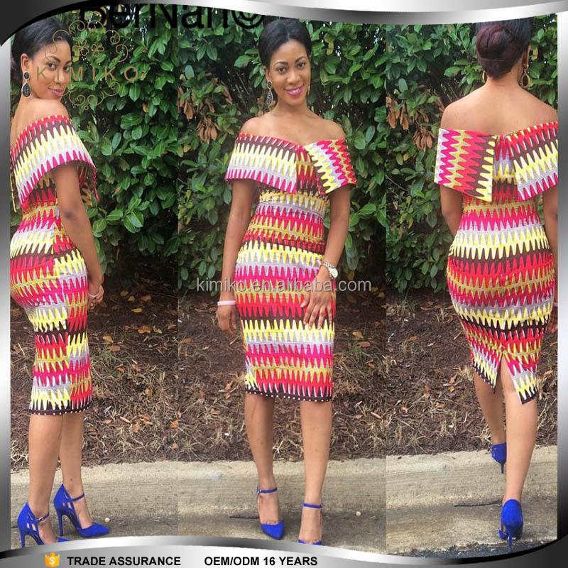 7b3e2fe7cbd13 Women Wear Fashion Dashiki African Off Shoulder African Short Dress - Buy Off  Shoulder African Dress