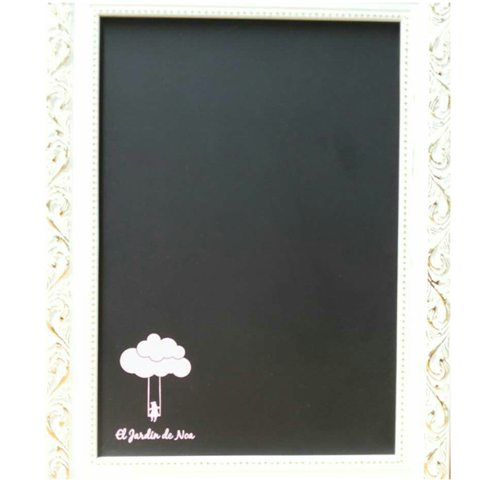 Framed Chalkboard with Rustic Vintage Great Chalk Board Sign Use for Home Menu