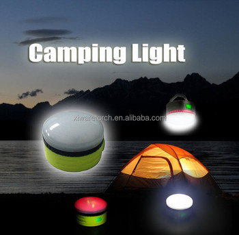 Rechargeable Battery Ipx6 200lm Led Camping Lampe Camping Light