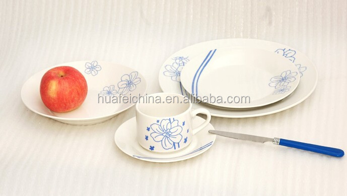 Dinner set, Dinnerware porcelain/blue dinnerware porcelain/Plate&Dish set
