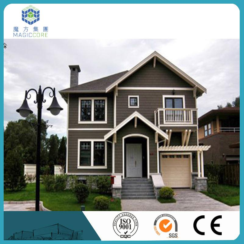 light steel frame sandwich panel easy to install prefabricated villa sales pretty well in Malaysia