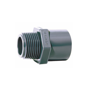 DIN PN16 Plastic UPVC PVC Pipe Fitting Male Female Threaded Adapter Elbow