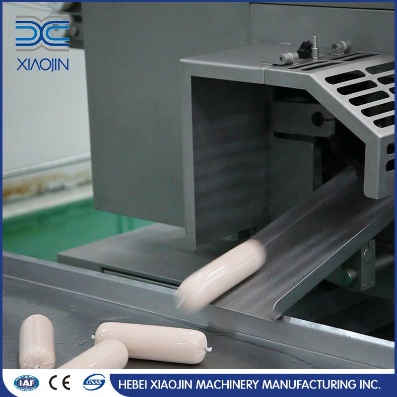 New Condition Widely Using sausage double clipper with stuffer machine
