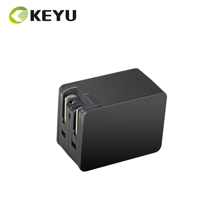universal travel easy wall adapter us to eu international ac plug with CB CE CCC FCC UL ERP V certificate