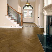 Hot sale squared edge multilayer ash white washed engineered wood flooring