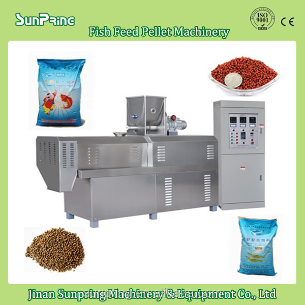 Small Capacity fish feed making machine.fish feed processing line, fish pellet making machine
