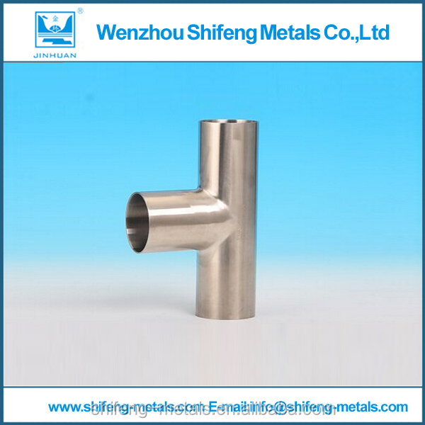 Made in China with low price stainless steel pipe reducing tee dimensions with API certification