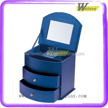 Useful Home Appliance 3-tiers Drawer Make Up Cardboard Craft Box ...