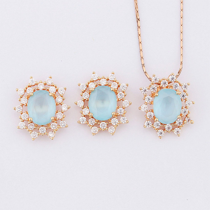 Wholesale rose gold jewellery sets Online Buy Best rose gold