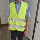 120g fabric safety reflective vest security vest with high visibility manufacturer