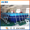 hot sale inflatable rectangular pool inflatable /steel frame pool/inflatable square swimming pool