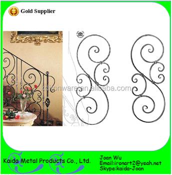 Interior Decorative Wrought Iron Stair Railing Panels Wholesale