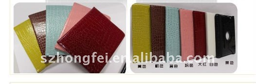 CROCODILE Skin-PU Leather Case For Samsung Tab 2