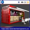 alibaba china cheap ready made house used catering trailer modular homes Cart food trucks home kitchen kiosk