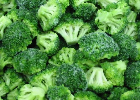 IQF frozen broccoli fresh broccoli and frozen vegetables in a hot sale
